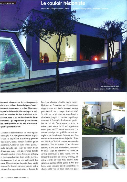 avignon clouet architectes benjamin avignon saweta clouet cabinet d architecture. Black Bedroom Furniture Sets. Home Design Ideas