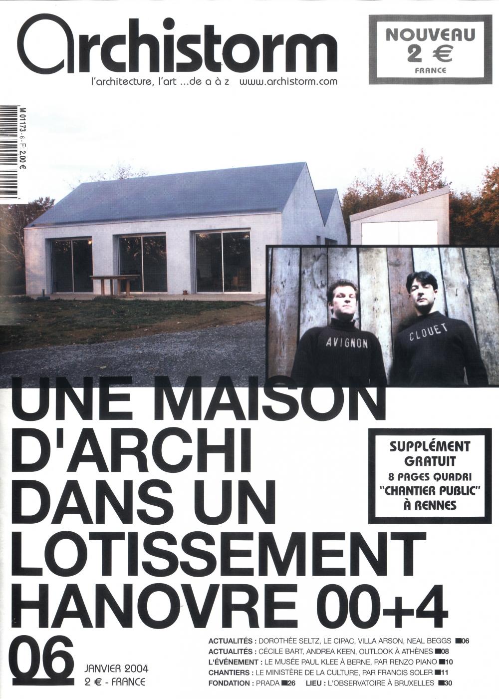 Nouvelles avignon clouet architectes page 6 for Catalogue habitat 2017
